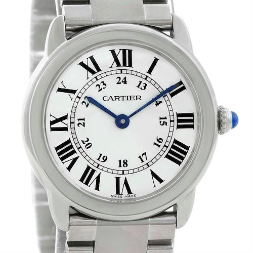 Photo of Cartier Ronde Solo Small Steel Ladies Watch W6701004