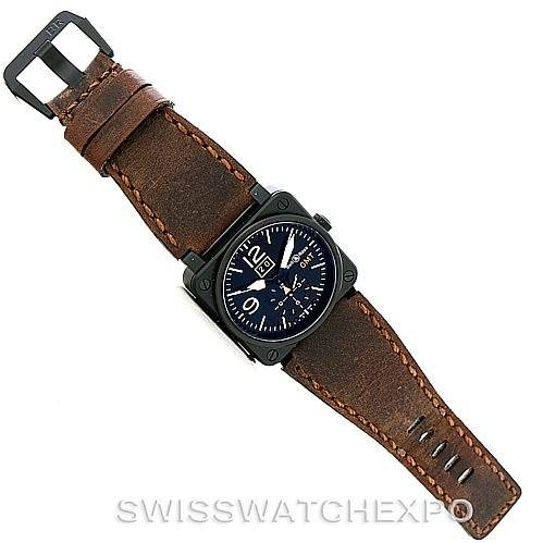 Bell Ross Aviation PVD Mens Watch BR0351 BR 03 51 SwissWatchExpo