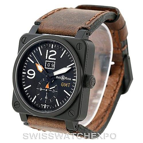 7692 Bell Ross Aviation PVD Mens Watch BR0351 BR 03 51 SwissWatchExpo