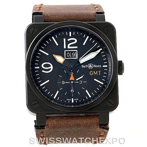 Bell And Ross Watches >> Bell Ross Aviation Pvd Mens Watch Br0351 Br 03 51