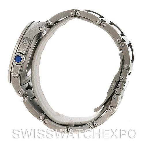 4262 Cartier Calibre Steel Automatic Mens Watch W7100016 SwissWatchExpo