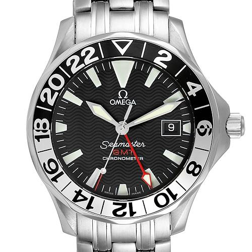 Photo of Omega Seamaster GMT 50th Anniversary Steel Mens Watch 2234.50.00