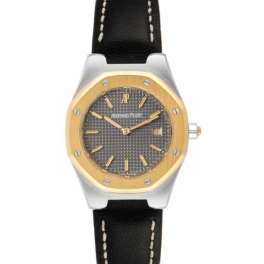 Audemars Piguet Royal Oak 28mm 18k Yellow Gold Steel Ladies Watch SwissWatchExpo