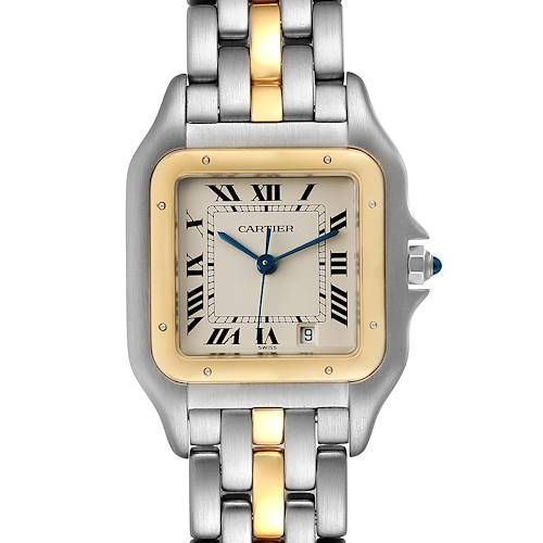 Photo of Cartier Panthere Steel 18K Yellow Gold Unisex Watch W25028B5