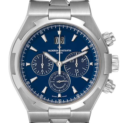Photo of Vacheron Constantin Overseas Chronograph Blue Dial Watch 49150
