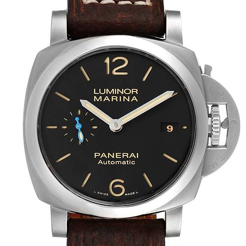 Photo of Panerai Luminor Marina 1950 42mm Mens Watch PAM01392 Box Papers