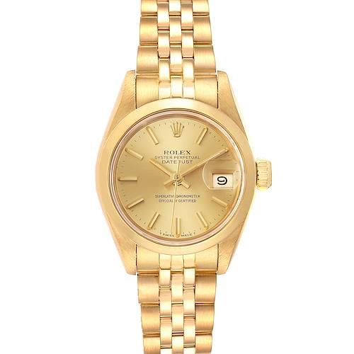 Photo of Rolex President Datejust 18k Yellow Gold Ladies Watch 69168