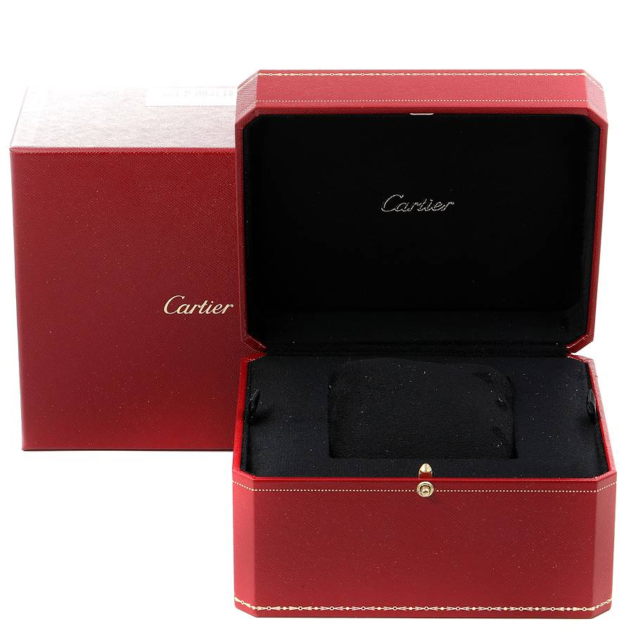 Cartier Ronde Solo XL Blue Dial Automatic Steel Mens Watch WSRN0023 SwissWatchExpo
