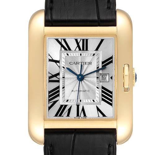 Photo of Cartier Tank Anglaise Yellow Gold Ladies Watch W5310030 Box Papers