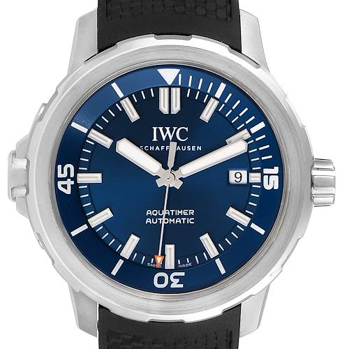 Photo of IWC Aquatimer Expedition Jacques-Yves Cousteau Mens Watch IW329005