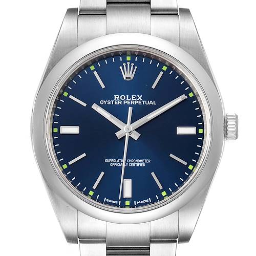 Photo of Rolex Oyster Perpetual 39mm Automatic Steel Mens Watch 114300
