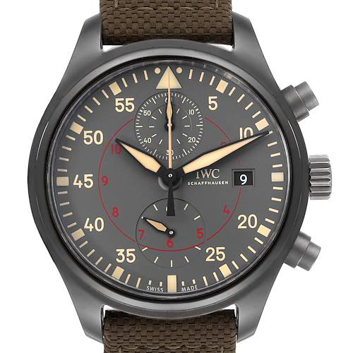 Photo of IWC Pilot Top Gun Miramar Ceramic Mens Watch IW389002