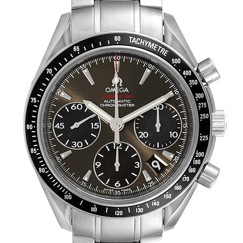 Photo of Omega Speedmaster Date Gray Dial Mens Watch 323.30.40.40.06.001 Card