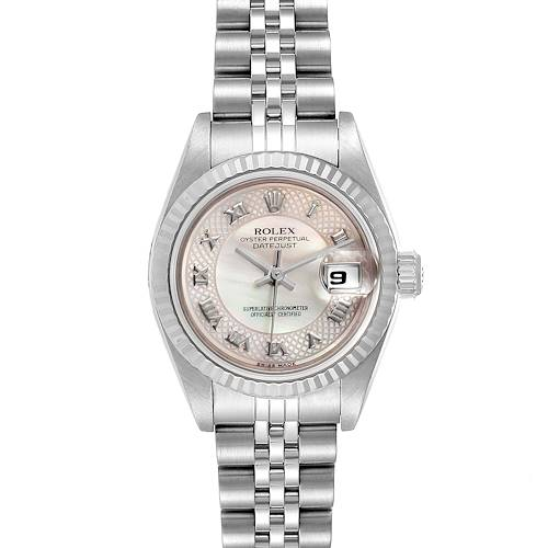 Photo of Rolex Datejust Decorated Mother of Pearl Dial Ladies Watch 79174