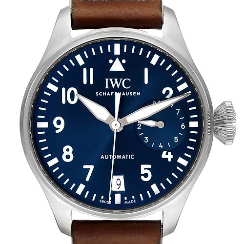 Photo of IWC Big Pilots 46mm Le Petit Prince Steel Mens Watch IW500916 Box Papers