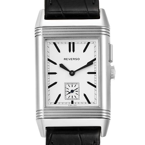 Photo of Jaeger LeCoultre Reverso Duo Day Night Steel Watch 278.8.54 Q3788570 Papers
