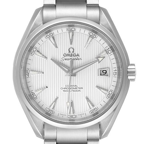 Photo of Omega Seamaster Aqua Terra Co-Axial Watch 231.10.42.21.02.001 Box Card