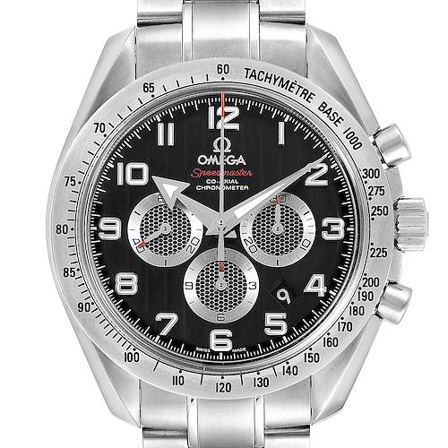 Photo of Omega Speedmaster Broad Arrow Black Dial Steel Mens Watch 321.10.44.50.01.001