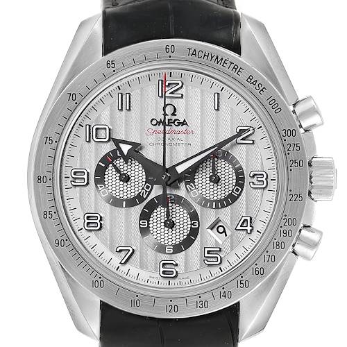 Photo of Omega Speedmaster Broad Arrow Silver Dial Watch 321.13.44.50.02.001