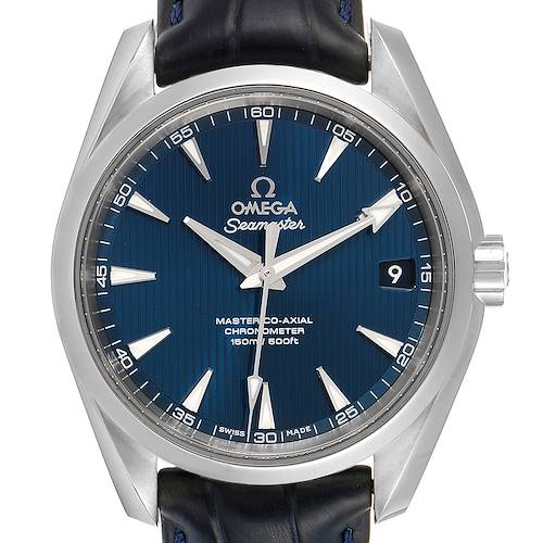 Photo of Omega Seamaster Aqua Terra Blue Dial Watch 220.13.38.20.03.001