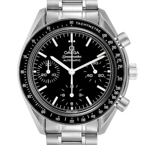 Photo of Omega Speedmaster Reduced Automatic Chronograph Steel Watch 3539.50.00