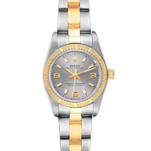 Photo of Rolex Oyster Perpetual Steel Yellow Gold Ladies Watch 76243