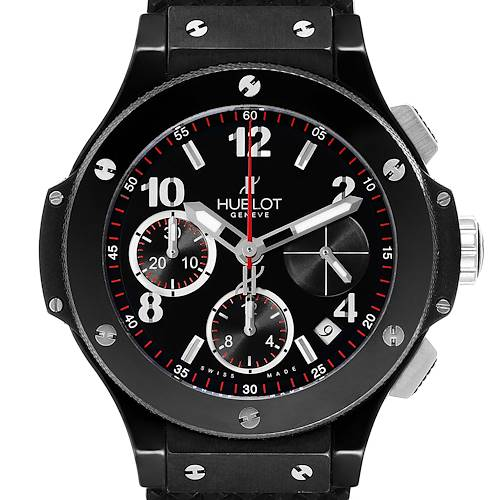 Photo of Hublot Big Bang Black Magic Ceramic Titanium Mens Watch 342.CX.130.RX