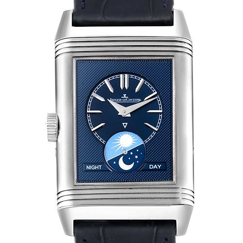 Photo of Jaeger LeCoultre Reverso Tribute Moon Watch 216.8.D3 Q3958420 Papers
