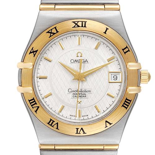 Photo of Omega Constellation Perpetual Calendar Steel Yellow Gold Watch 1252.30.00