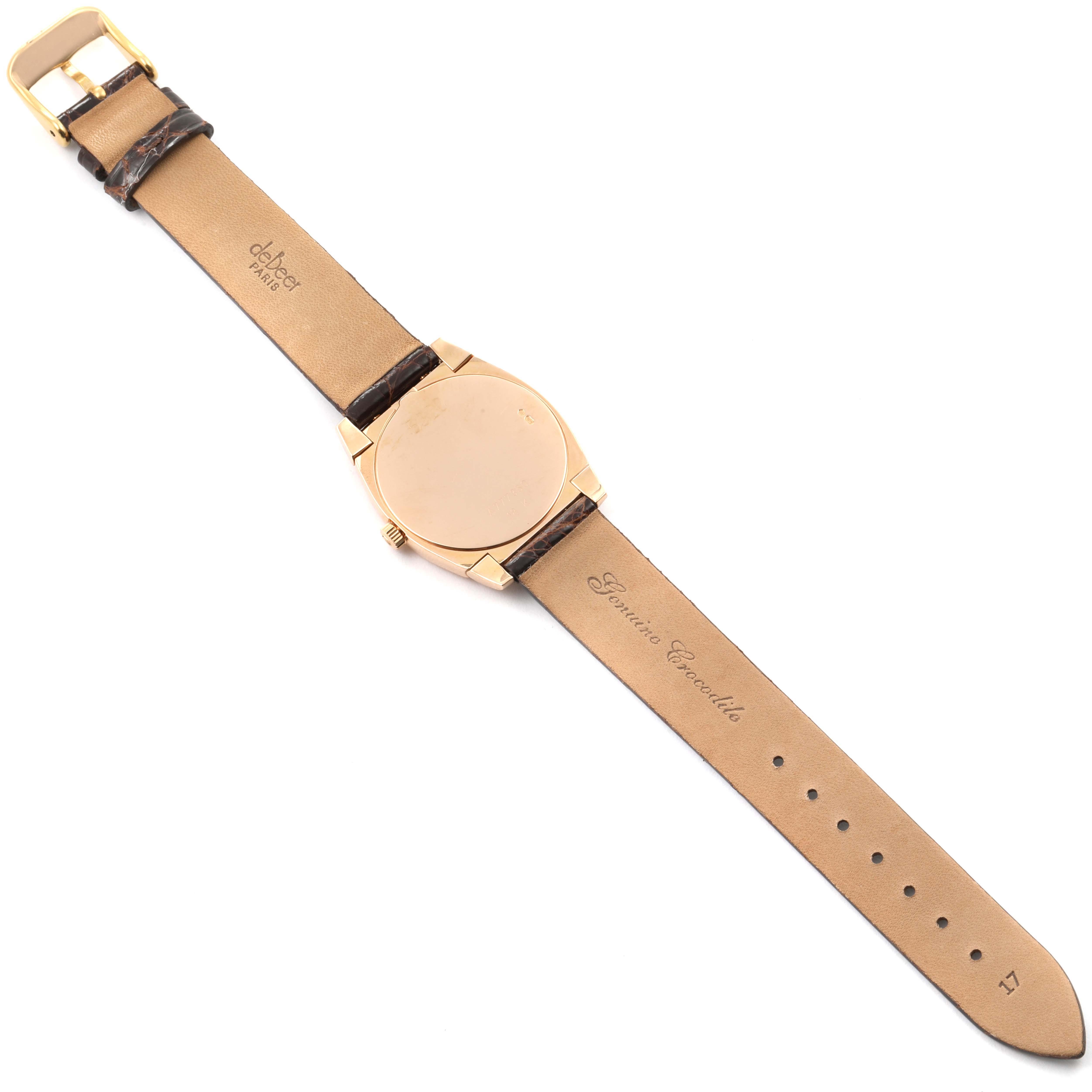 Rolex Cellini Cestello Rose Gold White Dial Ladies Watch 5320 SwissWatchExpo
