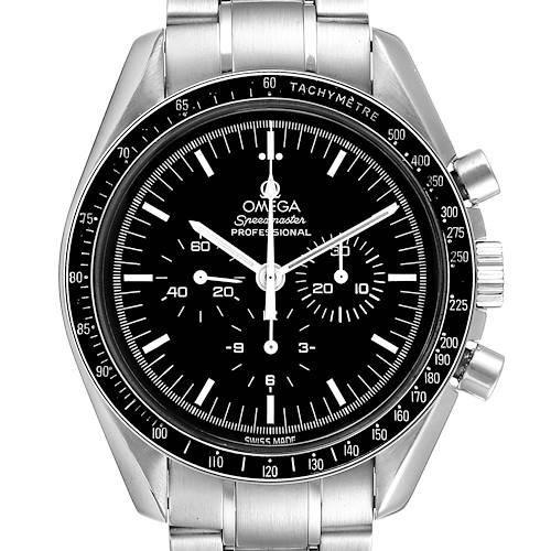 Photo of Omega Speedmaster Chronograph Black Dial Mens MoonWatch 3570.50.00 Card