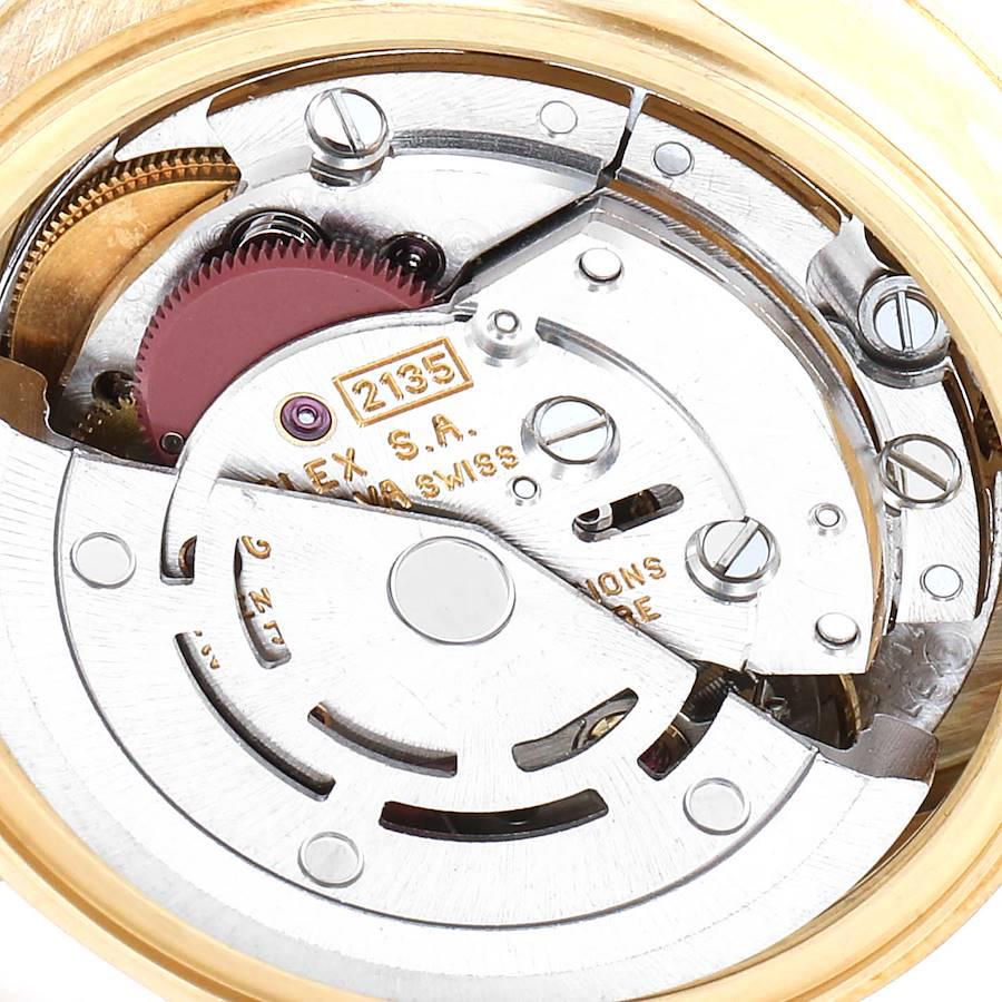 Rolex President Datejust 18K Yellow Gold Ladies Watch 69178 Papers SwissWatchExpo