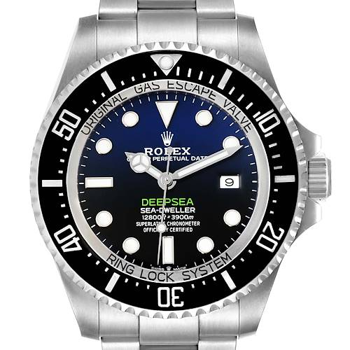Photo of Rolex Seadweller Deepsea 44 Cameron D-Blue Dial Mens Watch 126660 Box Card PARTIAL PAYMENT