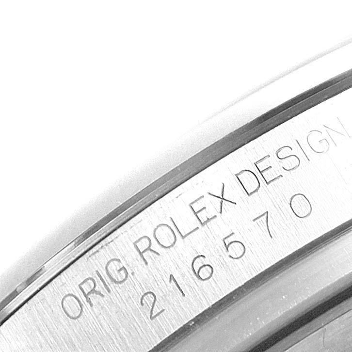 Rolex Explorer II 42 White Dial Orange Hand Mens Watch 216570 Box SwissWatchExpo