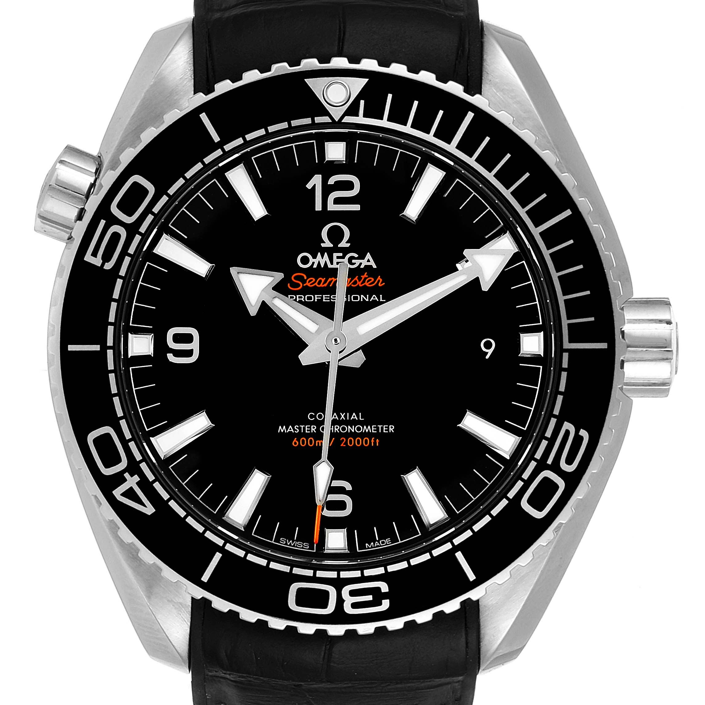 Omega Seamaster Planet Ocean 600m Mens Watch 215.33.44.21.01.001 Box Card SwissWatchExpo