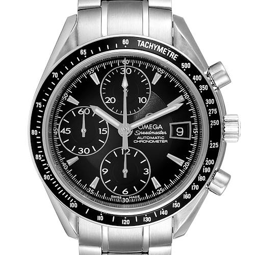 Photo of Omega Speedmaster Chronograph Black Dial Mens Watch 3210.50.00