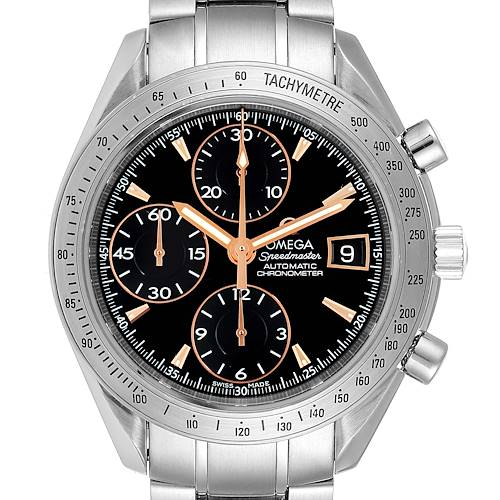 Photo of Omega Speedmaster Date Special Edition Mens Watch 3211.50.00 Box Card