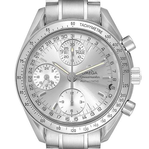 Photo of Omega Speedmaster Day Date Chronograph Steel Mens Watch 3523.30.00