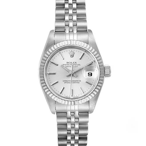 Photo of Rolex Datejust Steel White Gold Jubilee Bracelet Ladies Watch 69174