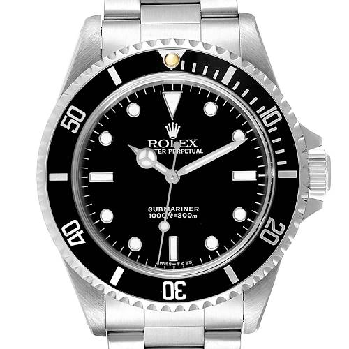 Photo of Rolex Submariner 40mm Non-Date 2 Liner Steel Steel Mens Watch 14060