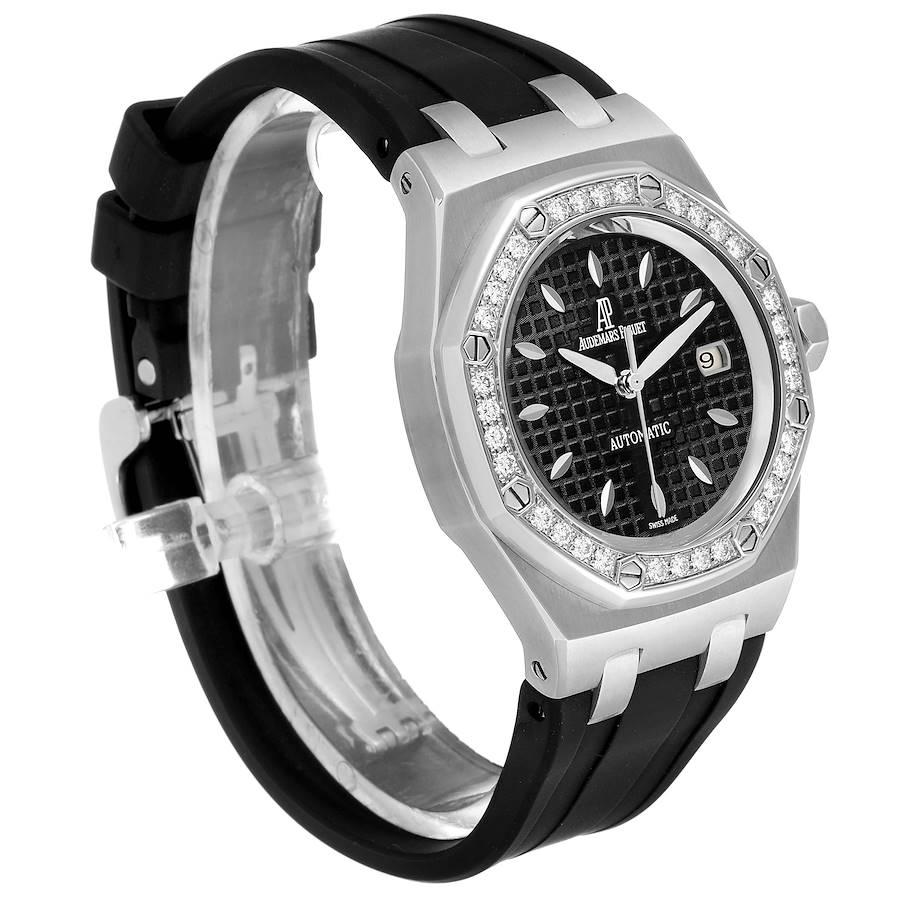 Audemars Piguet Royal Oak 35mm Diamond Ladies Watch 77321ST SwissWatchExpo