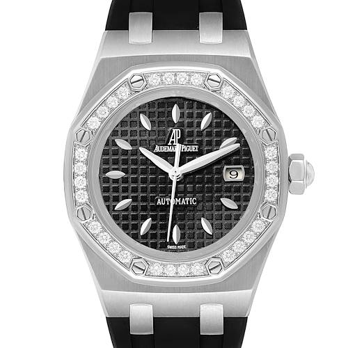 Audemars Piguet Royal Oak 35mm Diamond Ladies Watch 77321ST