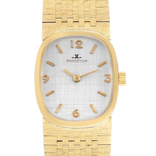 Photo of Jaeger LeCoultre 14k Yellow Gold Manual Vintage Mens Watch