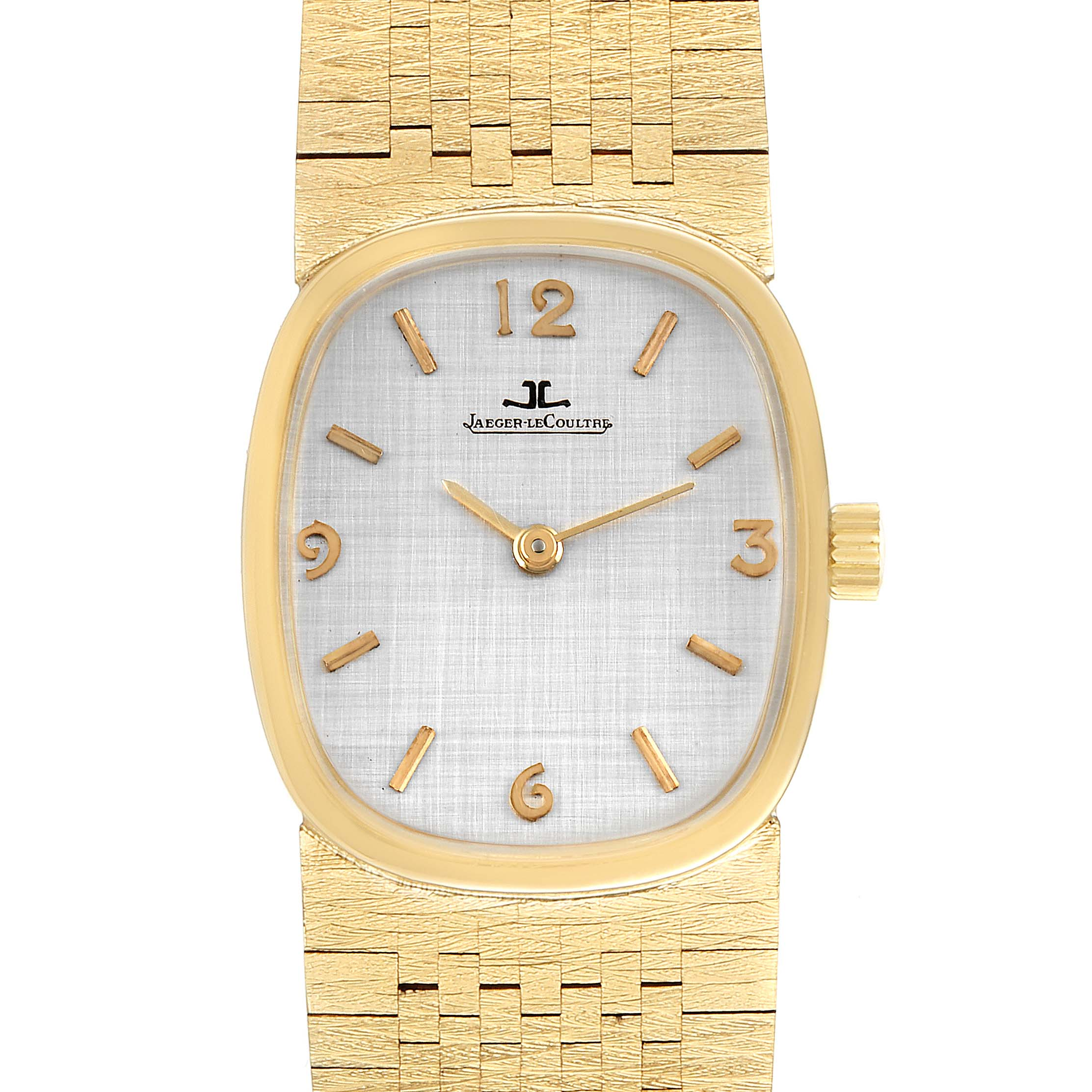 Jaeger LeCoultre 14k Yellow Gold Manual Vintage Mens Watch SwissWatchExpo