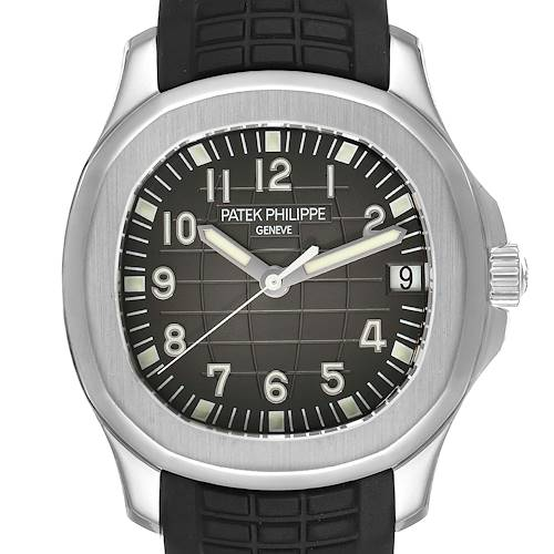 Photo of Patek Philippe Aquanaut Steel Rubber Strap Mens Watch 5165A