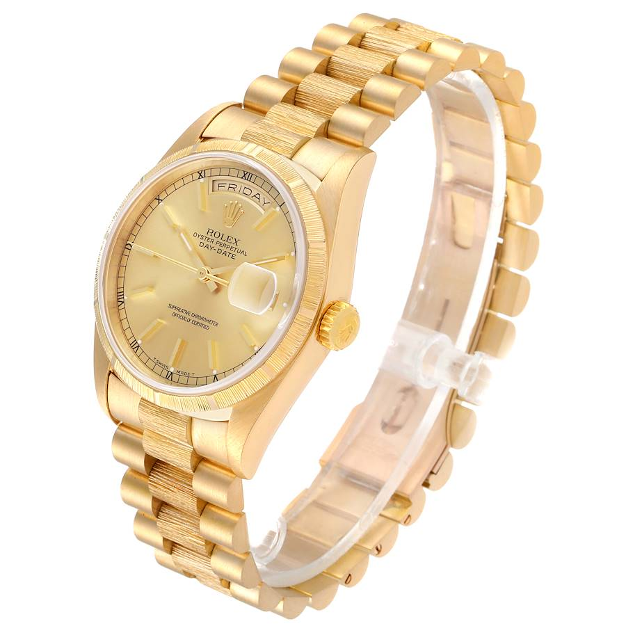 Rolex President Day-Date 36mm Yellow Gold Mens Watch 18248 Box PARTIAL PAYMENT SwissWatchExpo