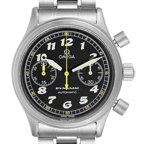 Photo of Omega Dynamic III Chronograph Black Dial Steel Mens Watch 5240.50.00