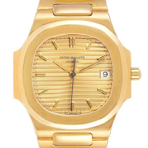 Photo of Patek Philippe Nautilus 32mm 18K Yellow Gold Ladies Watch 3900