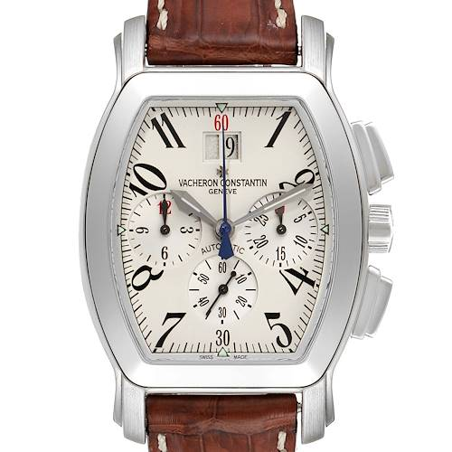 Vacheron Constantin Royal Eagle Chronograph Silver Dial Watch 49145