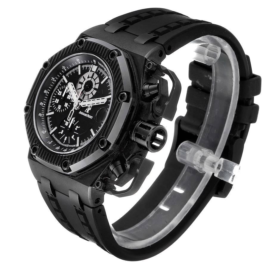 Audemars Piguet Royal Oak Offshore Survivor Chronograph Watch 26165IO Box Papers SwissWatchExpo